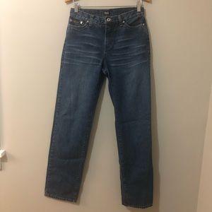 Dolce & Gabbana dark wash straight leg jeans